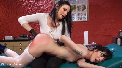 Photo number 4 from Slut For Life shot for Whipped Ass on Kink.com. Featuring Veruca James and Charlotte Sartre in hardcore BDSM & Fetish porn.