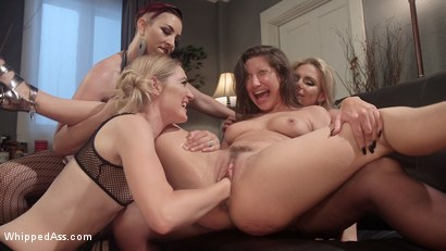 Photo number 10 from Dyke Bar 3: Abella Danger fisted, DP'd and dominated by wild lesbians! shot for Whipped Ass on Kink.com. Featuring Abella Danger, Mona Wales, Mistress Kara and Phoenix Marie in hardcore BDSM & Fetish porn.