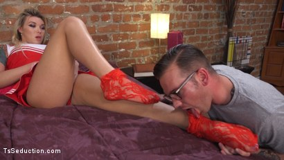 Photo number 26 from Slutty Cheerleader Bribes Tutor With An Athletic Assfucking shot for TS Seduction on Kink.com. Featuring Will Havoc and Aubrey Kate in hardcore BDSM & Fetish porn.