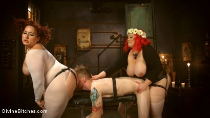 Photo number 5 from Daffodils: BBW Juicy Smother Fuck Indulgence shot for Divine Bitches on Kink.com. Featuring Mimosa, April Flores and Sebastian Keys in hardcore BDSM & Fetish porn.