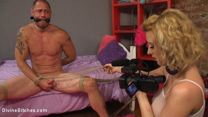 Photo number 11 from Cherry Torn Beats Sleazy Porn Producer Down shot for Divine Bitches on Kink.com. Featuring Cherry Torn and D. Arclyte in hardcore BDSM & Fetish porn.