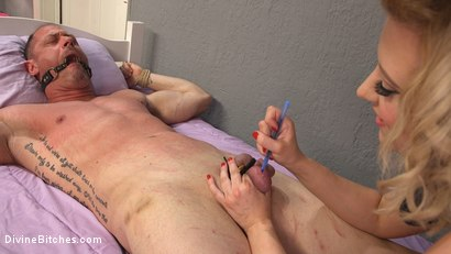 Photo number 12 from Cherry Torn Beats Sleazy Porn Producer Down shot for Divine Bitches on Kink.com. Featuring Cherry Torn and D. Arclyte in hardcore BDSM & Fetish porn.
