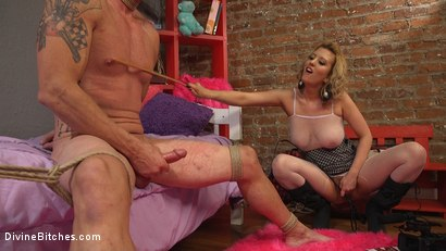 Photo number 13 from Cherry Torn Beats Sleazy Porn Producer Down shot for Divine Bitches on Kink.com. Featuring Cherry Torn and D. Arclyte in hardcore BDSM & Fetish porn.