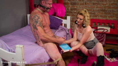 Photo number 18 from Cherry Torn Beats Sleazy Porn Producer Down shot for Divine Bitches on Kink.com. Featuring Cherry Torn and D. Arclyte in hardcore BDSM & Fetish porn.