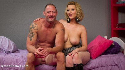 Photo number 2 from Cherry Torn Beats Sleazy Porn Producer Down shot for Divine Bitches on Kink.com. Featuring Cherry Torn and D. Arclyte in hardcore BDSM & Fetish porn.