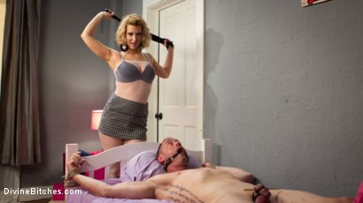 Photo number 5 from Cherry Torn Beats Sleazy Porn Producer Down shot for Divine Bitches on Kink.com. Featuring Cherry Torn and D. Arclyte in hardcore BDSM & Fetish porn.