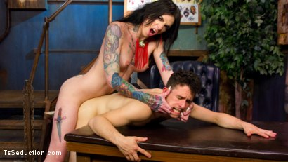 Photo number 12 from Chelsea Marie's First Creampie! shot for TS Seduction on Kink.com. Featuring Corbin Dallas and Chelsea Marie in hardcore BDSM & Fetish porn.