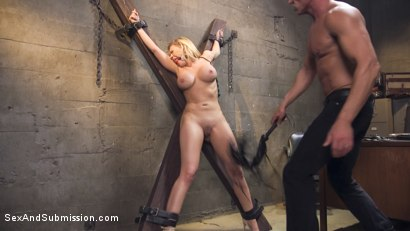 Photo number 8 from La Turista shot for Sex And Submission on Kink.com. Featuring Kagney Linn Karter and Marco Banderas in hardcore BDSM & Fetish porn.
