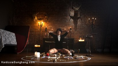 Photo number 4 from SCREAMER: Double Fucked Gangbang In Bondage And Full Suspension shot for Hardcore Gangbang on Kink.com. Featuring Bianca Stone, Will Havoc, Mickey Mod, Gage Sin, Owen Gray and Small Hands in hardcore BDSM & Fetish porn.