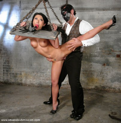Photo number 8 from The Vanishing shot for Sex And Submission on Kink.com. Featuring Steven St. Croix and Soolin Kelter in hardcore BDSM & Fetish porn.
