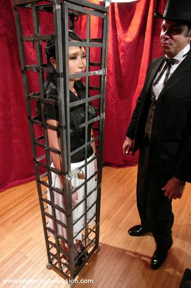 Photo number 2 from The Vanishing shot for Sex And Submission on Kink.com. Featuring Steven St. Croix and Soolin Kelter in hardcore BDSM & Fetish porn.