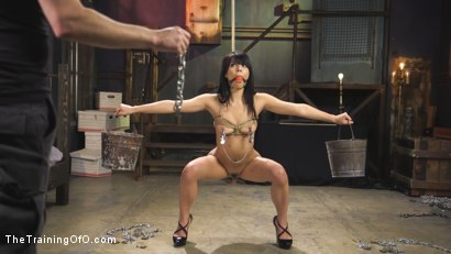 Photo number 1 from Gina Valentina Earns Her Collar shot for The Training Of O on Kink.com. Featuring Tommy Pistol and Gina Valentina in hardcore BDSM & Fetish porn.