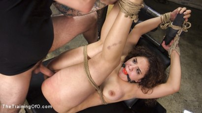 Photo number 12 from Training Callie Klein to be an Obedient, Willing, Dirty Slut shot for The Training Of O on Kink.com. Featuring Tommy Pistol and Callie Klein in hardcore BDSM & Fetish porn.
