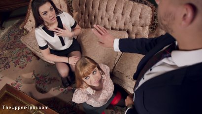 Photo number 4 from Evil BDSM Swingers Trap an Anal Lesbian shot for The Upper Floor on Kink.com. Featuring Xander Corvus, Penny Pax and Kimber Woods in hardcore BDSM & Fetish porn.