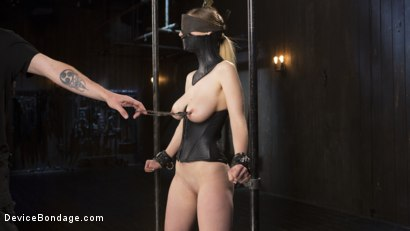 Photo number 13 from European Import shot for Device Bondage on Kink.com. Featuring Stella Cox  and The Pope in hardcore BDSM & Fetish porn.
