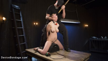 Photo number 7 from European Import shot for Device Bondage on Kink.com. Featuring Stella Cox  and The Pope in hardcore BDSM & Fetish porn.