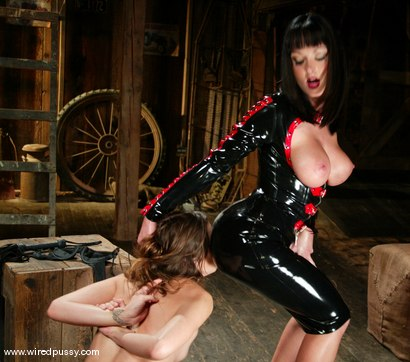 Photo number 3 from Melissa Lauren and Amber Rayne shot for Wired Pussy on Kink.com. Featuring Melissa Lauren and Amber Rayne in hardcore BDSM & Fetish porn.