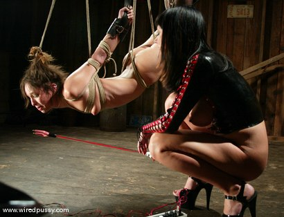 Photo number 11 from Melissa Lauren and Amber Rayne shot for Wired Pussy on Kink.com. Featuring Melissa Lauren and Amber Rayne in hardcore BDSM & Fetish porn.