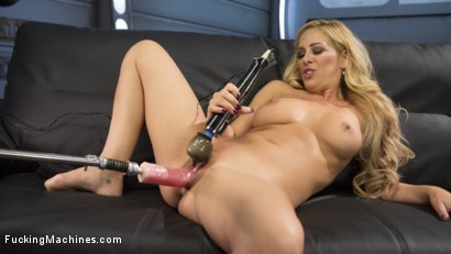 Photo number 13 from Hard Bodied Blonde MILF has Earth Shattering Orgasm from the Machines shot for Fucking Machines on Kink.com. Featuring Cherie DeVille in hardcore BDSM & Fetish porn.