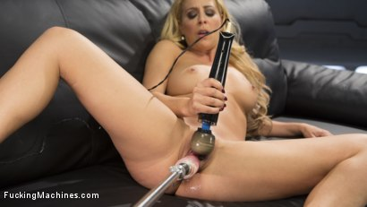 Photo number 15 from Hard Bodied Blonde MILF has Earth Shattering Orgasm from the Machines shot for Fucking Machines on Kink.com. Featuring Cherie Deville in hardcore BDSM & Fetish porn.