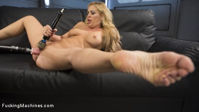 Photo number 5 from Hard Bodied Blonde MILF has Earth Shattering Orgasm from the Machines shot for Fucking Machines on Kink.com. Featuring Cherie Deville in hardcore BDSM & Fetish porn.