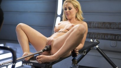 Photo number 7 from Hard Bodied Blonde MILF has Earth Shattering Orgasm from the Machines shot for Fucking Machines on Kink.com. Featuring Cherie DeVille in hardcore BDSM & Fetish porn.