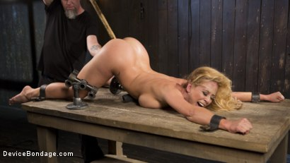 Photo number 13 from Fight or Flight = The Bitch That Broke Everything shot for Device Bondage on Kink.com. Featuring Cherie Deville and The Pope in hardcore BDSM & Fetish porn.