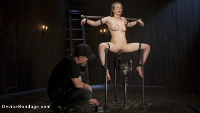 Photo number 15 from Proven Pain Slut shot for Device Bondage on Kink.com. Featuring Casey Calvert  and The Pope in hardcore BDSM & Fetish porn.