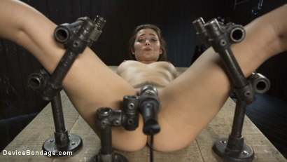 Photo number 11 from Playful Creature shot for Device Bondage on Kink.com. Featuring Dani Daniels and The Pope in hardcore BDSM & Fetish porn.
