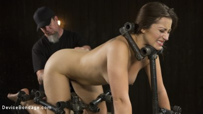 Photo number 6 from Playful Creature shot for Device Bondage on Kink.com. Featuring Dani Daniels and The Pope in hardcore BDSM & Fetish porn.