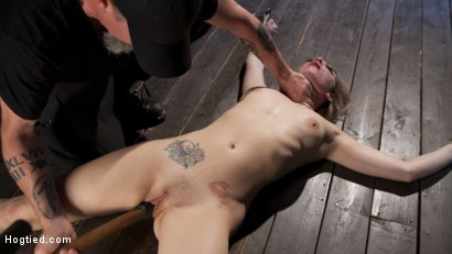 Photo number 10 from Dahlia Sky Submits to Punishing Bondage and Torment shot for Hogtied on Kink.com. Featuring Dahlia Sky in hardcore BDSM & Fetish porn.