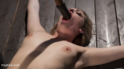 Photo number 11 from Dahlia Sky Submits to Punishing Bondage and Torment shot for Hogtied on Kink.com. Featuring Dahlia Sky in hardcore BDSM & Fetish porn.