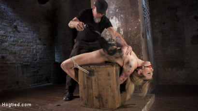 Photo number 1 from Dahlia Sky Submits to Punishing Bondage and Torment shot for Hogtied on Kink.com. Featuring Dahlia Sky in hardcore BDSM & Fetish porn.