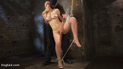 Photo number 11 from Dani Daniels Submits in Brutal Bondage shot for Hogtied on Kink.com. Featuring Dani Daniels and The Pope in hardcore BDSM & Fetish porn.