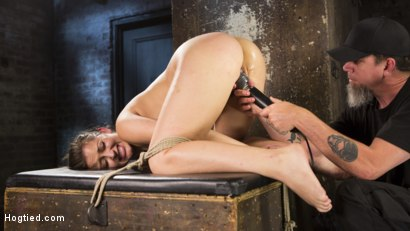 Photo number 4 from Dani Daniels Submits in Brutal Bondage shot for Hogtied on Kink.com. Featuring Dani Daniels and The Pope in hardcore BDSM & Fetish porn.