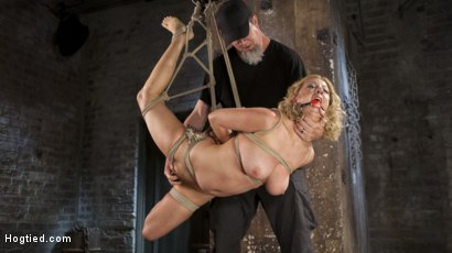 Photo number 5 from Cherry Torn Returns To Hogtied!! shot for Hogtied on Kink.com. Featuring Cherry Torn and The Pope in hardcore BDSM & Fetish porn.