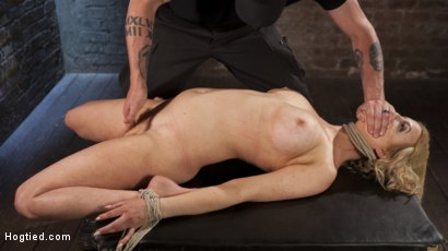 Photo number 6 from Cherry Torn Returns To Hogtied!! shot for Hogtied on Kink.com. Featuring Cherry Torn and The Pope in hardcore BDSM & Fetish porn.