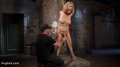 Photo number 9 from Cherry Torn Returns To Hogtied!! shot for Hogtied on Kink.com. Featuring Cherry Torn and The Pope in hardcore BDSM & Fetish porn.
