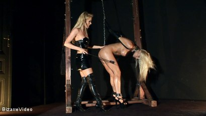 Photo number 9 from Bitches and Pets: Krystal and Linda Shane shot for Bizarre Video on Kink.com. Featuring  in hardcore BDSM & Fetish porn.
