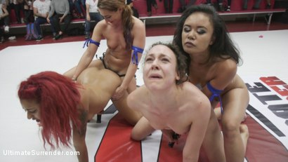 Squirting Orgasms, Real Wrestling, Sex fighting at it's finest