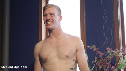 Photo number 15 from Straight stud touched by a guy for the very first time shot for Men On Edge on Kink.com. Featuring Chris Pryce in hardcore BDSM & Fetish porn.
