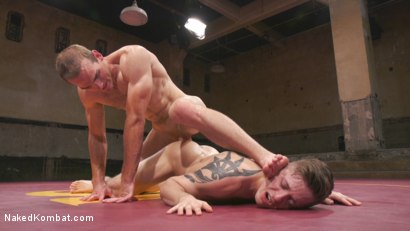 Photo number 13 from Tyler Rush takes on ripped hunk Jonah Marx shot for Naked Kombat on Kink.com. Featuring Jonah Marx and Tyler Rush in hardcore BDSM & Fetish porn.
