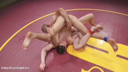 Photo number 14 from Tyler Rush takes on ripped hunk Jonah Marx shot for Naked Kombat on Kink.com. Featuring Jonah Marx and Tyler Rush in hardcore BDSM & Fetish porn.