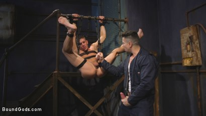 Photo number 13 from Anal Whore taken for a Candlelit Night of Hot Wax and Hard Flogging shot for Bound Gods on Kink.com. Featuring Trenton Ducati and Alexander Gustavo in hardcore BDSM & Fetish porn.