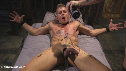 Photo number 8 from Anal Whore taken for a Candlelit Night of Hot Wax and Hard Flogging shot for Bound Gods on Kink.com. Featuring Trenton Ducati and Alexander Gustavo in hardcore BDSM & Fetish porn.