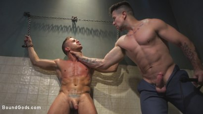 Photo number 14 from Anal Whore taken for a Candlelit Night of Hot Wax and Hard Flogging shot for Bound Gods on Kink.com. Featuring Trenton Ducati and Alexander Gustavo in hardcore BDSM & Fetish porn.