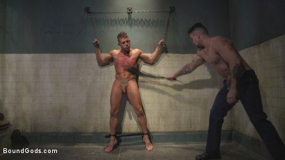 Photo number 6 from Anal Whore taken for a Candlelit Night of Hot Wax and Hard Flogging shot for Bound Gods on Kink.com. Featuring Trenton Ducati and Alexander Gustavo in hardcore BDSM & Fetish porn.