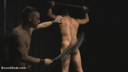 Photo number 10 from Straight stud wants only bondage but he's made to take cock up his ass shot for Bound Gods on Kink.com. Featuring Sebastian Keys and Jordan Boss in hardcore BDSM & Fetish porn.