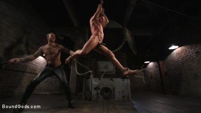 Photo number 14 from Derek Pain vs Christian Wilde shot for Bound Gods on Kink.com. Featuring Christian Wilde and Derek Pain in hardcore BDSM & Fetish porn.