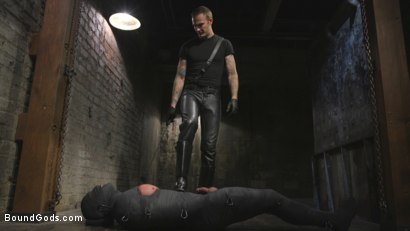 Photo number 2 from Derek Pain vs Christian Wilde shot for Bound Gods on Kink.com. Featuring Christian Wilde and Derek Pain in hardcore BDSM & Fetish porn.